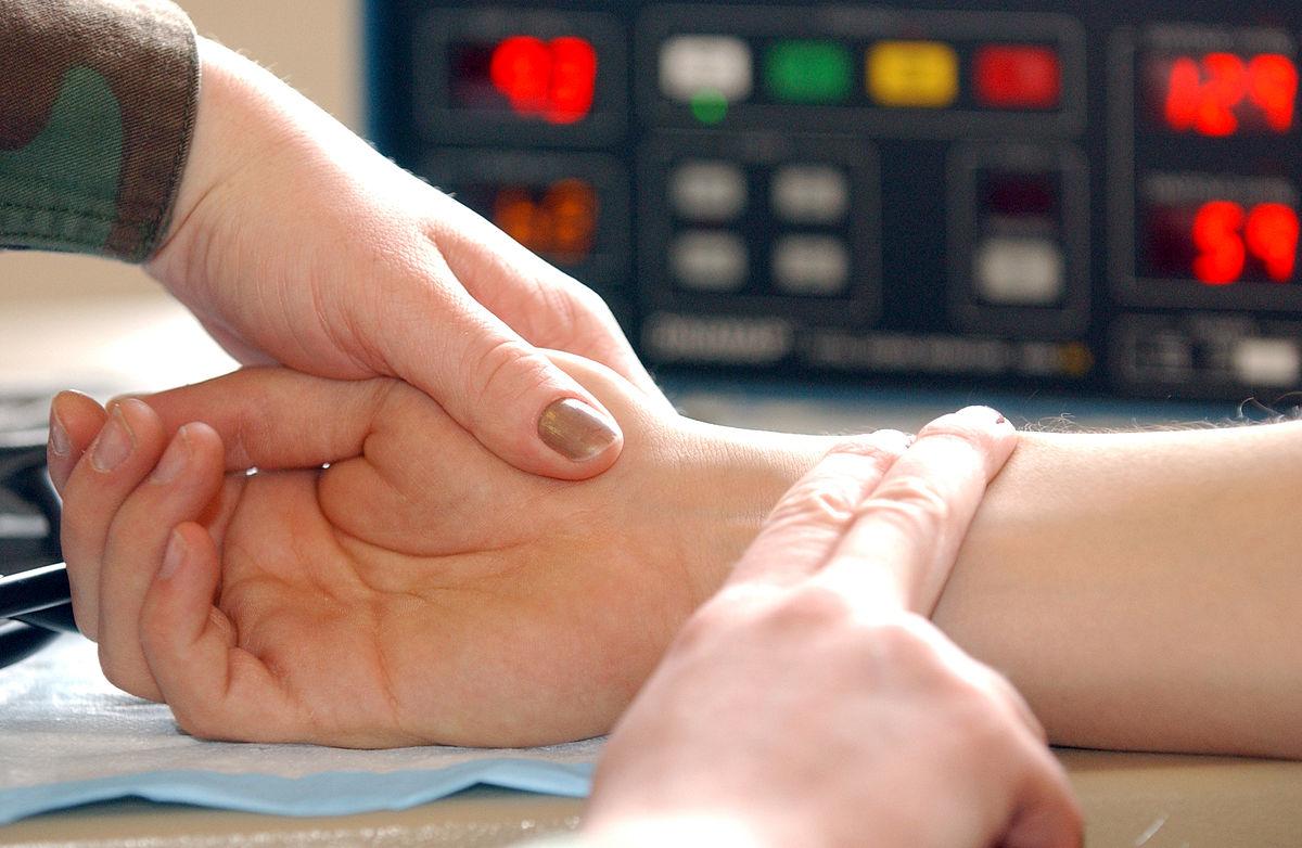 Высокий пульс снимаем в домашних условиях