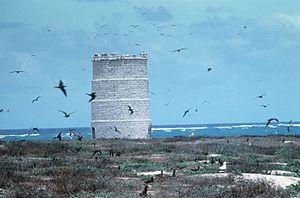 Raine Island Beacon - Raine Island Beacon, 1983