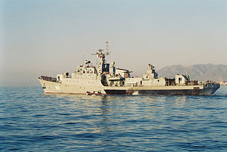 Algerian People's National Armed Forces - The Russian made Rais Korfou frigate