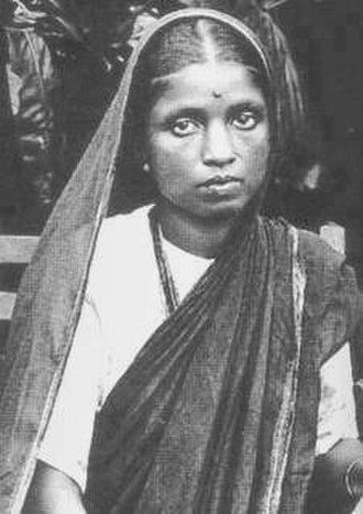 Ambedkar family - Image: Ramabai Ambedkar wife of Dr. Babasaheb Ambedkar