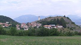 A general view of the village of Rambaud