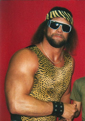 """Macho Man"" Randy Savage in the summ..."