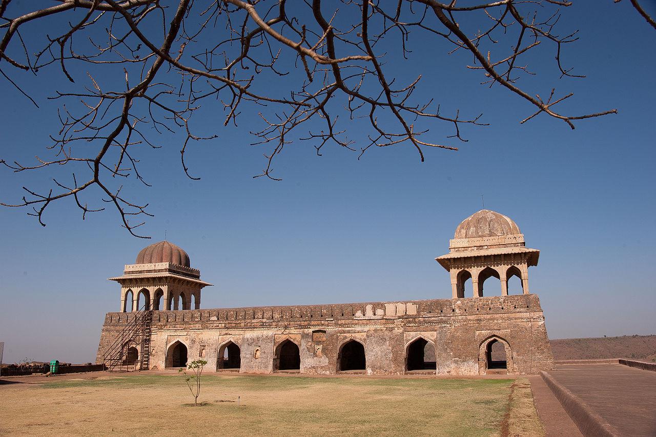 Rani Roopmati Mahal,MANDU.JPG