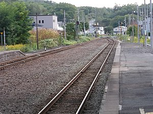 Rankoshi Station - Image: Rankoshi eki 02