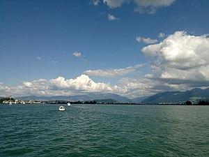 Rapperswil - Seedamm - Zürichsee - Dampfschiff Stadt Rapperswil 2012-07-22 17-16-29 (N8).jpg