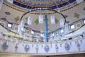 Ravensburg Mevlana-Moschee Gebetsraum Leuchter 02.jpg