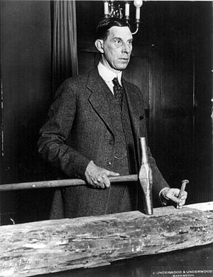 Ray Lyman Wilbur - Wilbur visits Boulder Dam (c. 1930)