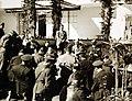 "Reading of ""Unconditional Surrender"" announcement, Casablanca, 1943 (24123513893).jpg"