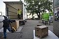 Receiving donations at the Reuse Centre (Kierrätyskeskus) in Kyläsaari, Helsinki, 2020.jpg