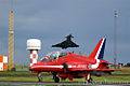 Red Arrows and Typhoon (8659301447).jpg
