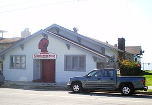 Red Men Hall (Los Angeles) - The hall from Shepard Street