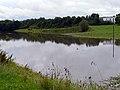 Regenüberlaufbecken, Regenrückhaltebecken in Dagersheim, Juli 2009 - panoramio.jpg