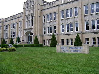 Reitz Memorial High School - Image: Reitz Memorial High School