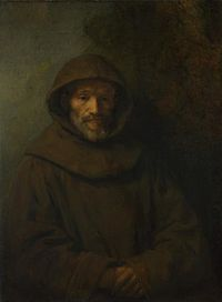 Rembrandt, A Franciscan Friar, 1659, National Gallery, London.jpg