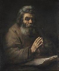 An Elderly Man in Prayer