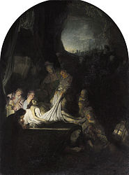 Rembrandt: The Entombment