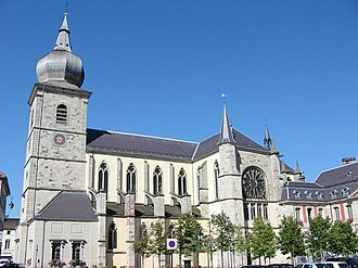 Remiremont Abbey - Image: Remiremont St Pierre