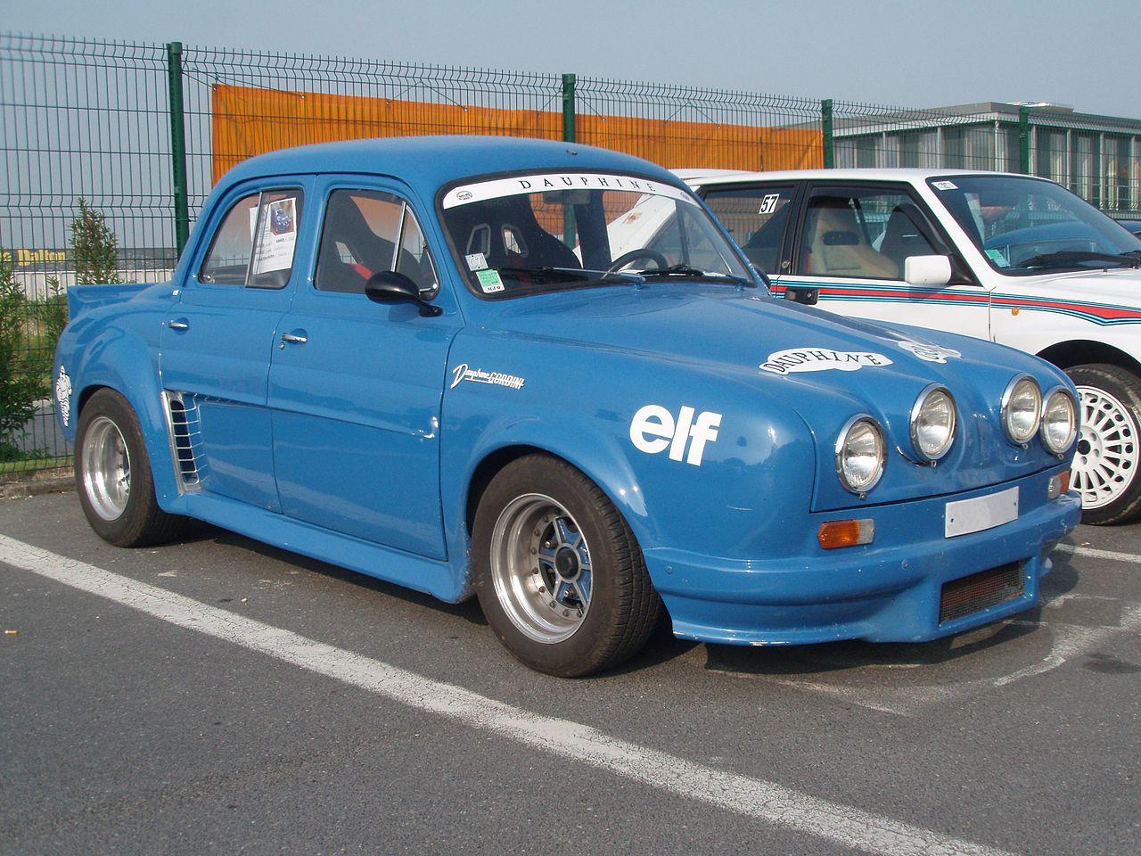File Renault Dauphine Gordini Jpeg Wikimedia Commons