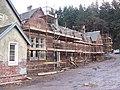 Renovation work at Bridgend Cottages - geograph.org.uk - 355832.jpg