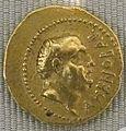 Repubblica, cn. domitius aenobabus, aureo, 41 a.c..JPG