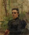 Retrato de D. Emília das Dominações Sobral Fernandes, mãe do autor (1897) - Constantino Fernandes.png