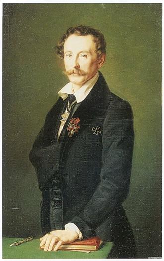 Gerhardt Wilhelm von Reutern - Gerhardt von Reutern, by Theodor Hildebrandt (1837)