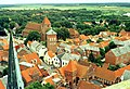Ribe, view from the tower of the cathedral to the Saint Catherine church.jpg