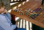 Wikipedia podaje, że jest to zdjęcie kogoś z ZA, podczas, gdy to zdjęcie chłopca patrzącego na układankę