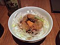 Rice bowl topped with steamed oysters (16078514773).jpg