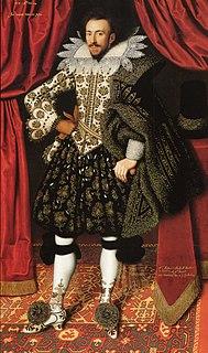 Richard Sackville, 3rd Earl of Dorset son of Robert Sackville, 2nd Earl of Dorset