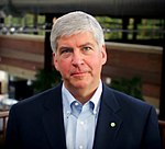 Gubernur Michigan Rick Snyder (R)