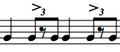 Ride pattern with accents on 2 and 4.png