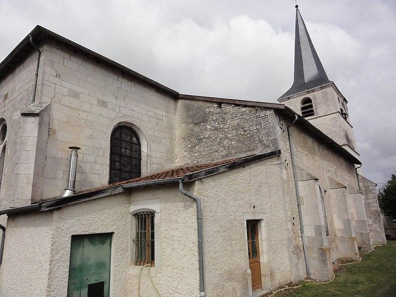 Rigny-la-Salle (Meuse) église