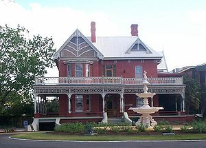 William Chaffey - Rio Vista, former home of W.B. Chaffey and his family in Mildura, Victoria, Australia.