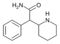 Ritalinamide structure.png