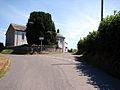 Road Junction and Chapel near Llanfihangel-y-Creuddyn - geograph.org.uk - 208058.jpg