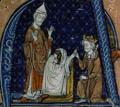 Robert II le Pieux remettant une séquence au pape.png