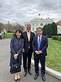 Robert O'Brien welcomes Xiyue Wong to the White House.jpg