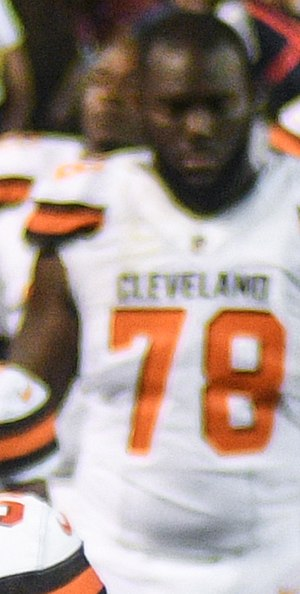 Roderick Johnson - Johnson with the Browns in 2017