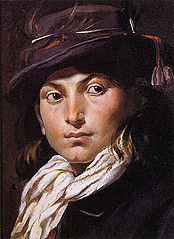 Portrait of a young man - Study of a head