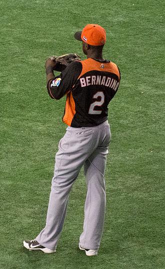 Roger Bernadina - Bernadina playing for the Netherlands national team in 2013 World Baseball Classic