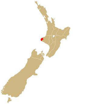 Taranaki (iwi) - Image: Rohe Taranaki