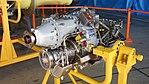 Rolls-Royce 250-B17F turboprop engine left front view at JASDF Gifu Air Base November 19, 2017.jpg