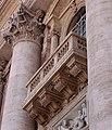 Rome - St.Peter's Basilica - Facade - Balcony 0465c.jpg