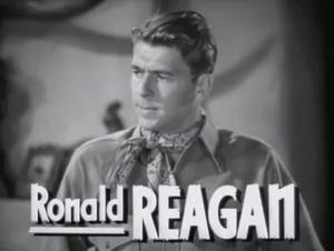The Bad Man (1941 film) - Reagan in the trailer