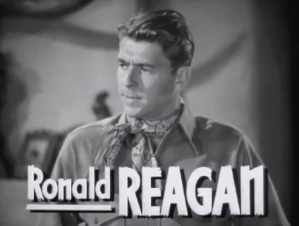 Ronald Reagan in The Bad Man (1941)