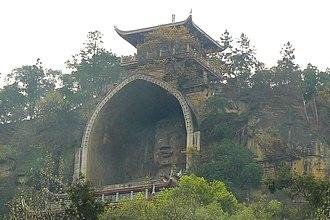 Rongxian Giant Buddha - Image: Rongxian Giant Buddha Flickr 6874487744 e 83d 48fe 27 o