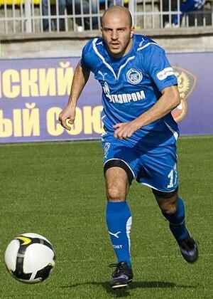 Alessandro Rosina - Rosina in action for Zenit.