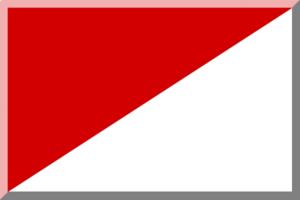 2017–18 Országos Bajnokság I (men's water polo) - Image: Rosso e Bianco diagonale