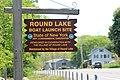Round Lake boat launch sign.jpg